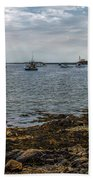 Cape Porpoise Maine - In The Evening Beach Towel