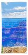 Cape Royal Blue On North Rim Of Grand Canyon-arizona Beach Towel