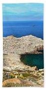 Cape Sandalo In Carloforte Beach Towel