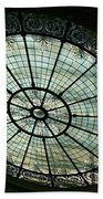 Capital Building Stained Glass  Beach Towel