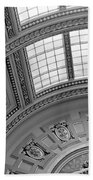 Capitol Architecture - Bw Beach Towel
