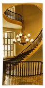 2 - Capitol Staircase - Montgomery Alabama Beach Towel