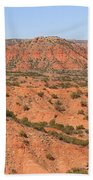 Caprock Canyon 1 Beach Towel