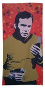 Captain Kirk Beach Towel