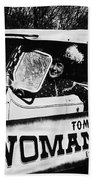 Car And Driver In Helldorado Days Parade In Tombstone Arizona 1967 Beach Towel