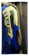 Car Reflection 6 Beach Towel