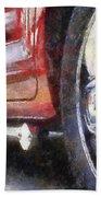 Car Rims 02 Photo Art 02 Beach Towel