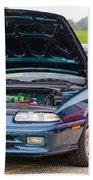 Car Show 022 Beach Towel
