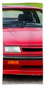 Car Show 032 Beach Towel