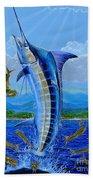 Caribbean Blue Off0041 Beach Sheet
