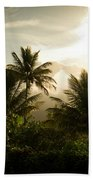Caribbean Daybreak Beach Towel