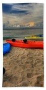 Caribbean Kayaks Beach Towel
