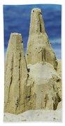 Caribbean Sand Castle  Beach Towel