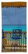 Caribbean View-island Grill Grand Cayman Beach Towel