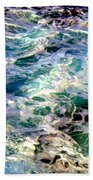 Caribbean Waters Beach Towel