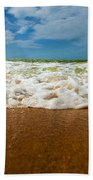 Caribbean Waves Beach Towel