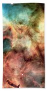 Carina Nebula - Deep Space Beach Towel