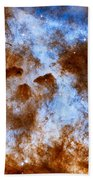 Carina Nebula-dust Pillars Beach Towel