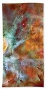 Carina Nebula - Interpretation 1 Beach Towel