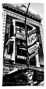 Carlos And Pepe's Montreal Mexican Bar Bw Beach Towel