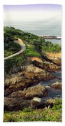 Carmel Highlands Beach Towel