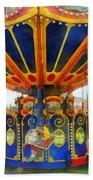 Carnival - Super Swing Ride Beach Towel
