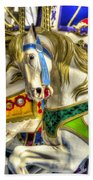 Carousel Charger Beach Towel