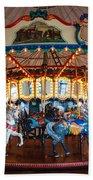 Carousel Ride Beach Towel