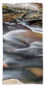 Carreck Creek Cascades Beach Towel
