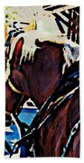 Carriage Horse Beach Towel