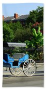 Carriage Tours New Orleans Beach Towel