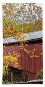 Carrollton Covered Bridge Beach Towel