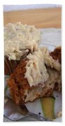 Carrot Muffins Beach Towel