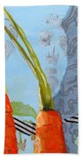 Carrots Beach Towel