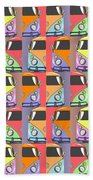 Cars Abstract  Beach Towel