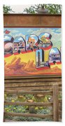 Cars Land Beach Towel
