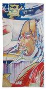 Carter Beauford Colorful Full Band Series Beach Sheet