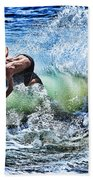 Carving Beach Towel
