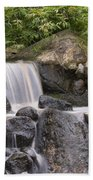 Cascade Waterfall Beach Towel