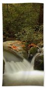 Cascades In Appalachian Mountains Beach Towel