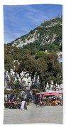 Casemates Square In Gibraltar Beach Towel