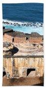 Castillo De San Cristobal San Juan Puerto Rico Beach Towel