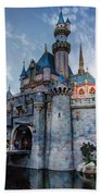 Castle And Clouds Beach Towel