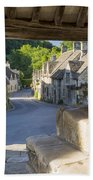 Castle Combe - View Beach Towel