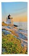 Castle Hill Lighthouse 1 Newport Beach Towel