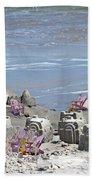 Castle Kingdom  Beach Towel