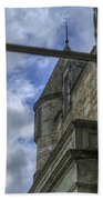 Castle Menzies From The Window Beach Towel