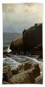 Castle Rock At Marblehead Beach Towel