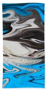 Abstract Cat Fish Beach Towel