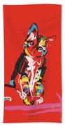Cat Prins Beach Towel